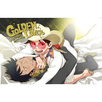 [Boys Love (Yaoi) : R18] Doujinshi - ONE PIECE / Law x Luffy (GOLDEN LOVER) / S+y
