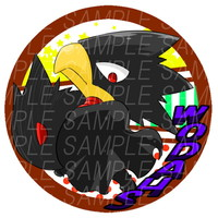 Badge - My Hero Academia / Tokoyami Fumikage