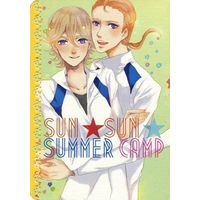 Doujinshi - Novel - TIGER & BUNNY / Edward x Ivan (SUN☆SUN☆SUMMER CAMP) / だるまストーブ
