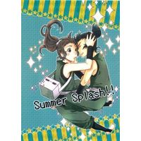 Doujinshi - Failure Ninja Rantarou / Kema Tomesaburou x Zenpouji Isaku (【コピー誌】Summer Splash!!) / KiraISM
