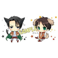 Cushion Cover - Shingeki no Kyojin / Eren & Levi