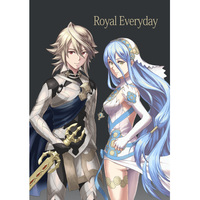 Doujinshi - Fire Emblem if / Aqua & Takumi & Leo & Kamui (Royal Everyday) / しろこま工房