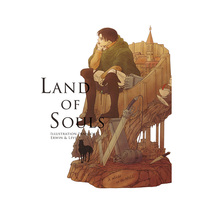 Doujinshi - Illustration book - Shingeki no Kyojin / Erwin x Levi (LAND OF SOULS) / 閾値8