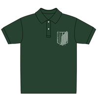 Polo Shirts - Shingeki no Kyojin Size-XL