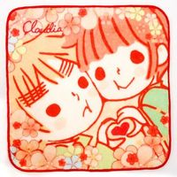 Hand Towel - Hetalia / United Kingdom & Japan & Claudia