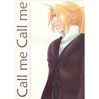 Doujinshi - Fullmetal Alchemist / Alphonse Elric x Edward Elric (Call me Call me~first part~) / AGG