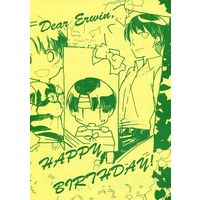 Doujinshi - Shingeki no Kyojin / Erwin x Levi (Dear Erwin, HAPPY BIRTHDAY!) / 藍紀行