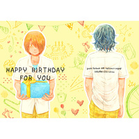 Doujinshi - Yowamushi Pedal / Teshima x Aoyagi (HAPPY BIRTHDAY FOR YOU) / ICHI