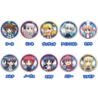 Trading Badge - Magical Girl Lyrical Nanoha
