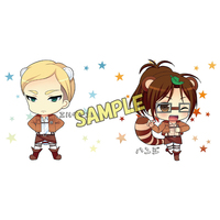 Cushion Cover - Shingeki no Kyojin / Erwin & Hanji