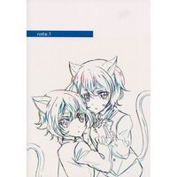 Doujinshi - Illustration book - DIABOLIK LOVERS (note.1) / みにゃるでぃーず