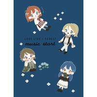 Doujinshi - Love Live / Honoka & Nico & Umi & Hanayo (LOVE LIVE ! FOREST music start) / aoiroiro