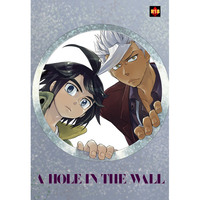 [Boys Love (Yaoi) : R18] Doujinshi - IRON-BLOODED ORPHANS / Mikazuki Augus x Orga Itsuka (A HOLE IN THE WALL) / 青光省
