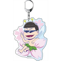 Commuter pass case - Big Key Chain - Osomatsu-san / Karamatsu