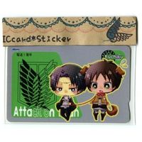 Card Stickers - Shingeki no Kyojin / Eren & Levi