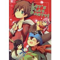 Doujinshi - Inazuma Eleven Series / All Characters (Inazuma Eleven) (LET'S PLAY PARTY!) / へのへのもへぢ