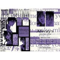 Doujinshi - Novel - Meitantei Conan / Kudou Shinichi x Mouri Ran (Always) / Crazy for you!?