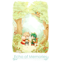 Doujinshi - Novel - My Hero Academia / Bakugou Katsuki x Midoriya Izuku (Echo of Memories) / mipple: