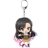 Big Key Chain - GIRLS-und-PANZER / Nishi Kinuyo
