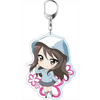 Big Key Chain - GIRLS-und-PANZER / Mika