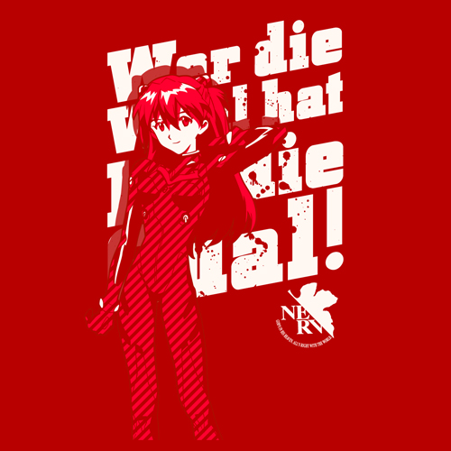 T-shirts - Evangelion / Asuka Langley Size-L