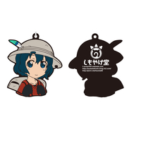 Rubber Key Chain - Kemono Friends / Kaban & Hippopotamus
