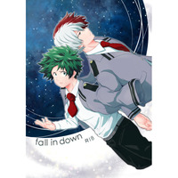 [Boys Love (Yaoi) : R18] Doujinshi - My Hero Academia / Todoroki Shouto x Midoriya Izuku (fall in down) / 柚子ぺっぱー