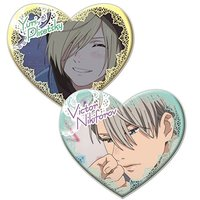 Badge - Yuri!!! on Ice / Victor & Yuri Plisetsky