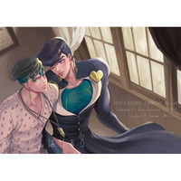 [Boys Love (Yaoi) : R18] Doujinshi - Jojo Part 4: Diamond Is Unbreakable / Jyosuke x Rohan (おわりもはじまり) / J-Plum