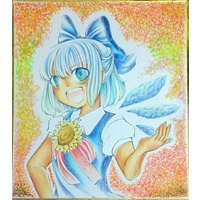 Illustration Panel - Touhou Project / Cirno