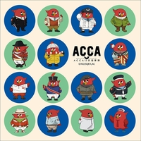 Cushion Cover - ACCA: 13-ku Kansatsu-ka