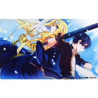 Card Game Playmat - Sword Art Online / Kirito & Alice Schuberg
