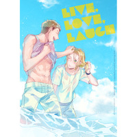 Doujinshi - IRON-BLOODED ORPHANS / Norba Shino x Yamagi Gilmerton (Live,Love,Laugh) / ricca