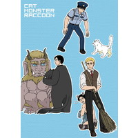 Doujinshi - Shingeki no Kyojin / Erwin x Levi (cat・monster・raccoon) / ぬるいにもほどがある