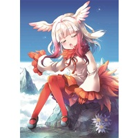 Card Sleeves - Kemono Friends / Crested Ibis