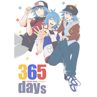 Doujinshi - Anthology - Yu-Gi-Oh! 5D's / Bruno (ブルーノアンソロジー『365days』) / tricolore+