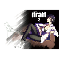 Doujinshi - Illustration book - draft3 / スタジオdraft