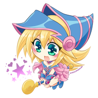 Key Chain - Yu-Gi-Oh! Series / Dark Magician Girl