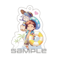 Key Chain - GRANBLUE FANTASY / Rackam & Noa