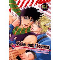 [Boys Love (Yaoi) : R18] Doujinshi - Jojo no Kimyou na Bouken / Caesar x Joseph (Fake out lovers) / ビネツショウネン