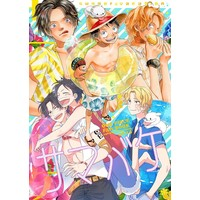 Doujinshi - ONE PIECE / Luffy & Ace & All Characters & Sabo (サマバケ) / aquarium+onemani