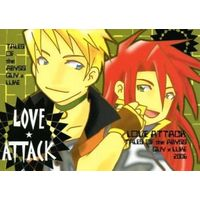 Doujinshi - Tales of the Abyss / Guy x Luke (LOVE ATTACK) / 三津工房