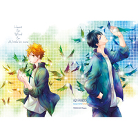 Doujinshi - Haikyuu!! / Hinata & Kageyama (Heat&Word&A Littl bit more) / MOON CAT