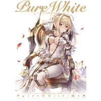 Doujinshi - Illustration book - Fate Series / Saber (Fate/Extra) & Astolfo (Pure White) / Nanaho Denko