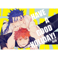 [Boys Love (Yaoi) : R18] Doujinshi - Fate/stay night / Lancer x Shirou Emiya (HAVE A GOOD HOLIDAY!) / おにぎり
