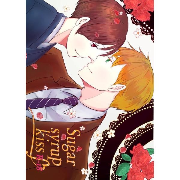 [Boys Love (Yaoi) : R18] Doujinshi - Manga&Novel - Anthology - Hetalia / United Kingdom x Japan (Sugar syrup kiss) / O.S.R+Royal Milk Tea