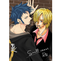 [Boys Love (Yaoi) : R18] Doujinshi - Manga&Novel - Anthology - ONE PIECE / Law x Sanji (Smell sweet) / ハラスキ+グリハニ