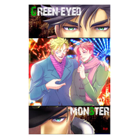 [Boys Love (Yaoi) : R18] Doujinshi - Novel - All Series (Jojo) / Jyoutarou x Kakyouin (Green-eyed monster) / 難局