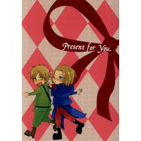Doujinshi - Novel - Hetalia / France x United Kingdom (Present for you) / Honey13