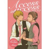 Doujinshi - Novel - Anthology - Slam Dunk / Mitsui Hisashi (Access in access) / レプリカ亭